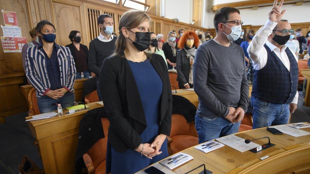 Les nouvelles autorités neuchâteloises ont été assermentées mardi au Château de Neuchâtel.