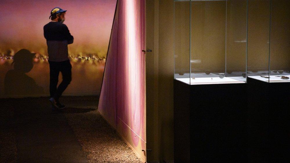 """""""Des choses"""", la nouvelle exposition du Laténium, met à contribution l'imagination des visiteurs."""