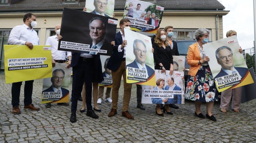 C'est une nette victoire de la CDU. L'homme fort de ces élections s'appelle Rainer Haselhoff.
