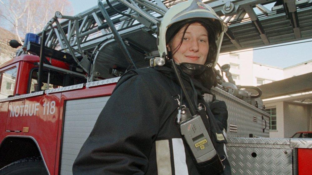 En 1988, Sandra Nydegger, alors âgée de 21 ans, était la première pompière du canton de Berne. «Parler de «mathématicienne» à des petites filles leur permet ainsi de se projeter dans cette profession», explique Pascal Gygax.