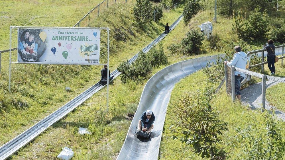 Le gérant du toboggan géant de La Vue-des-Alpes a été amendé pour avoir ouvert malgré l'interdiction sanitaire.