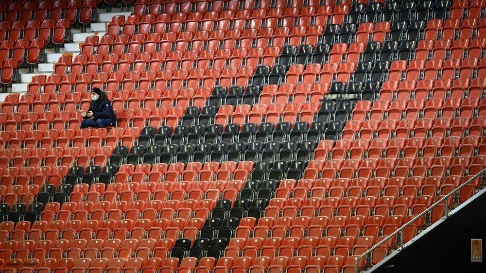 Les spectateurs se sont fait rares durant la saison 2020-2021.