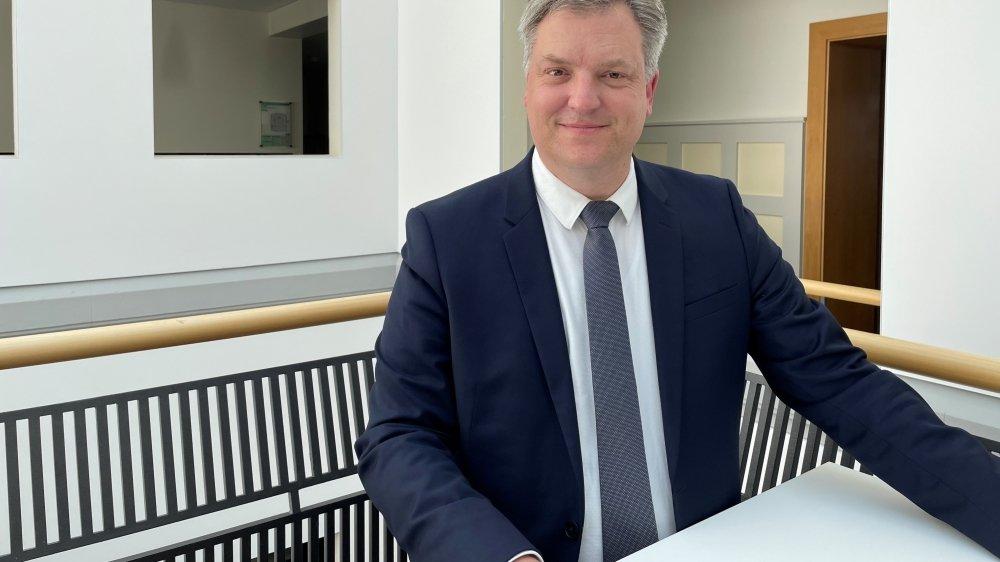 Frédéric Bigler, responsable de la clientèle Entreprises à la BCN.
