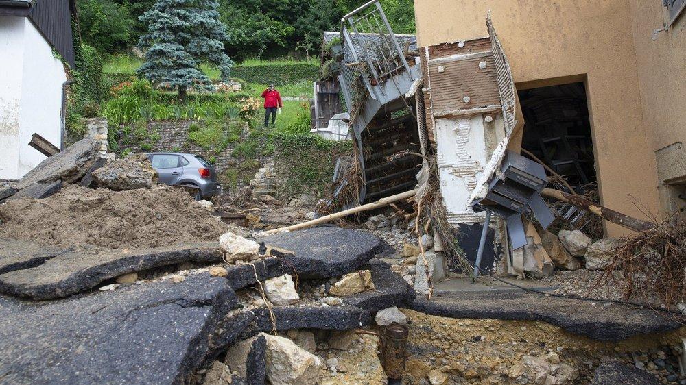 Certains habitants de Cressier ont subi des dégâts considérables.