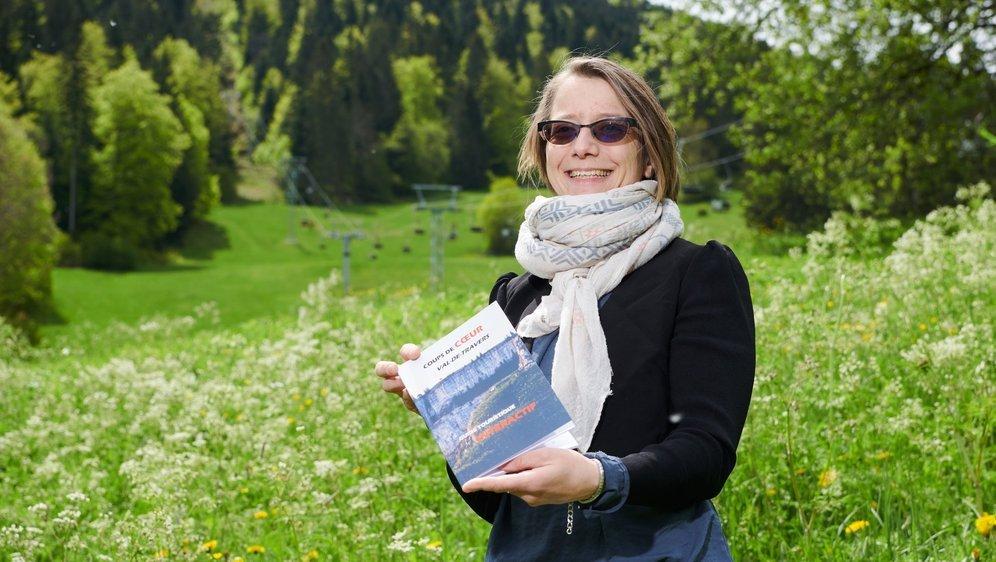 Au départ, Mélany Maire pensait créer un livre de randonnées, mais le projet s'est étoffé avec sept thématiques au total pour ce guide touristique.