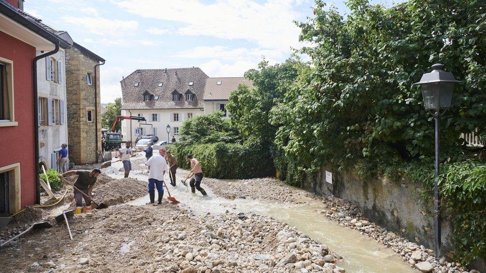 Il y a encore beaucoup à faire pour sécuriser le village de Cressier, selon Laurent Favre, président du gouvernement neuchâtelois.