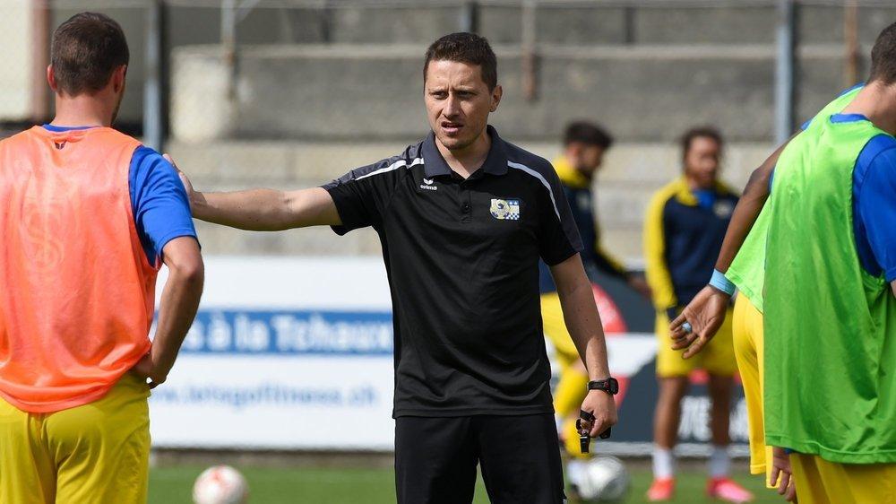 Christophe Droz a pris la succession d'Alexandre Pepe au pied levé.