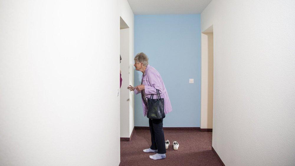 A quoi ressemblent les appartements avec encadrement de Couvet? On pouvait le découvrir lors des portes ouvertes de ce mardi 22 juin.