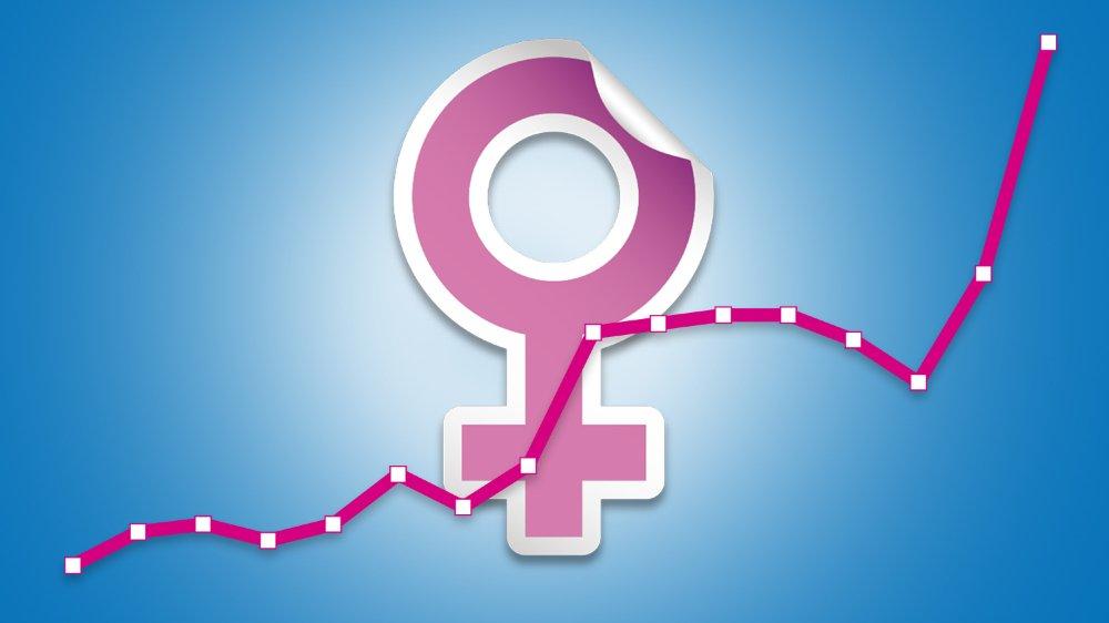 La progression féminine s'observe dans toutes les régions du canton.