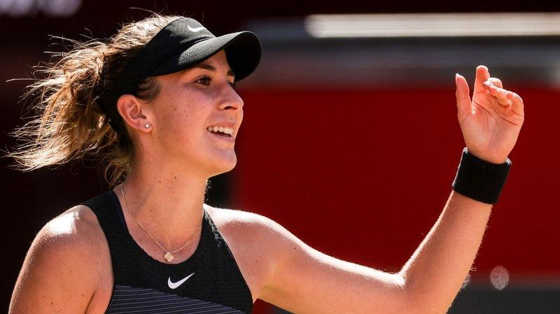 Belinda Bencic gagne en signant le point de l'année!