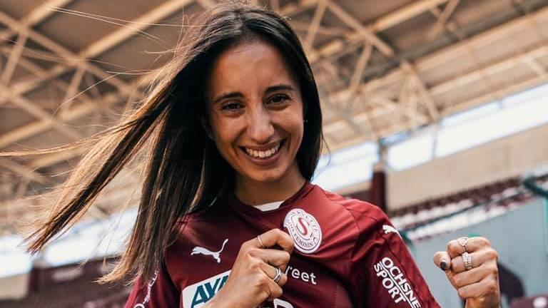 Ilona Guede Redondo évoluera avec le maillot grenat de Servette Chênois la saison prochaine.