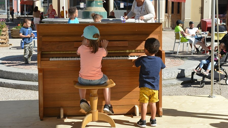 La Chaux-de-Fonds: deux pianos pour enchanter l'été