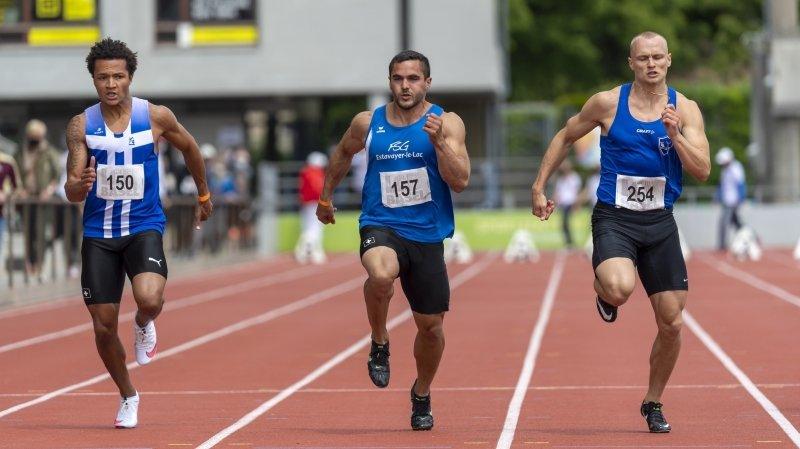 Record sur 100 m et limite européenne sur 200 m pour Bradley Lestrade
