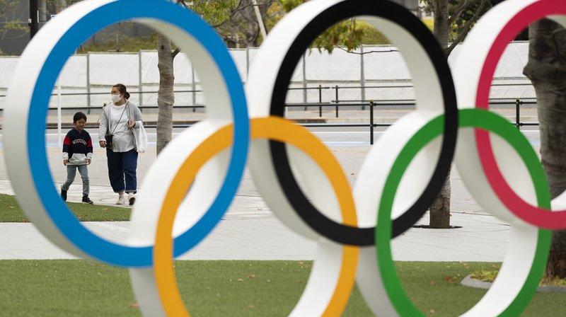 Les Jeux olympiques ont été reportés d'une année à cause du coronavirus.