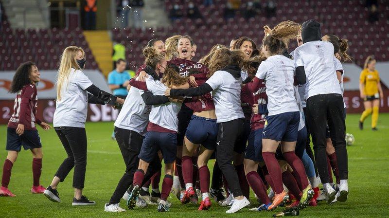 Football: Servette Chênois décroche son 1er titre de Super League dames