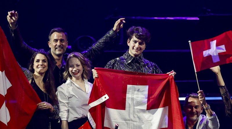 Musique: l'Italie gagne l'Eurovision de la chanson, le Fribourgeois Gjon's Tears troisième