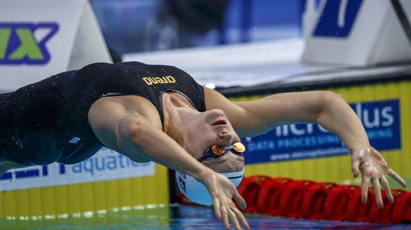 Natation: Nina Kost bat le record de Suisse du 200 m dos à Berlin