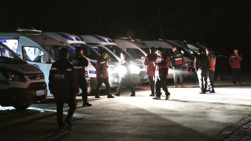 Chine: 21 morts dans une course sous l'effet de violentes conditions climatiques