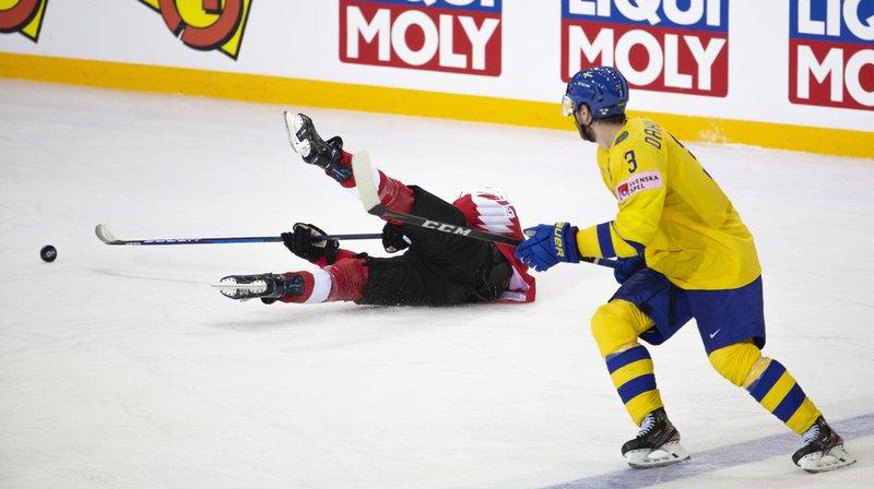 Hockey sur glace – Championnat du monde: la Suisse durement ramenée sur terre par la Suède