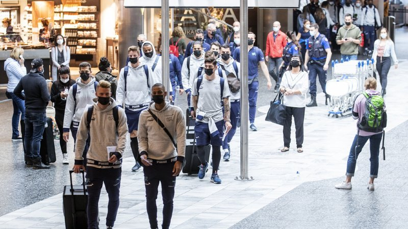 Euro 2021: la délégation suisse bien arrivée à Bakou