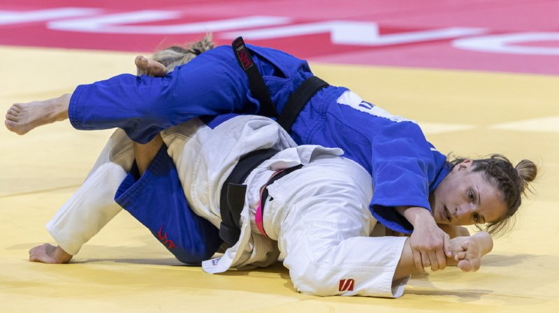 Fabienne Kocher (bleu) a subi la loi de son adversaire.