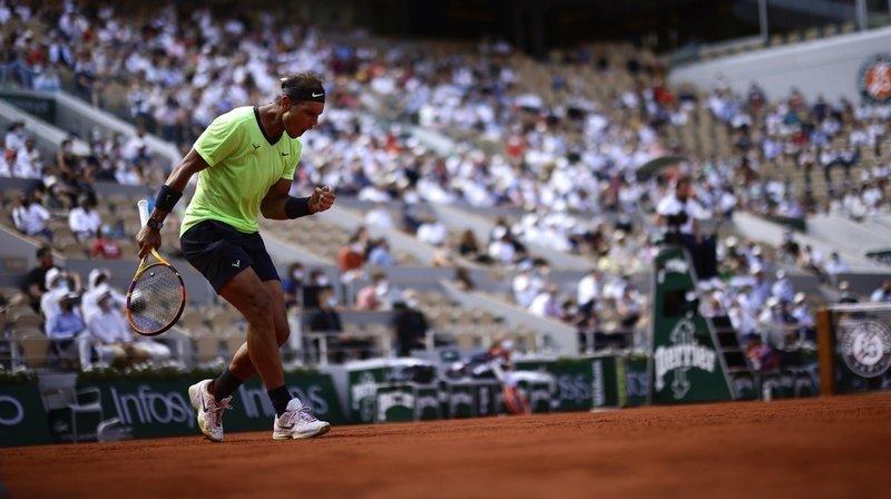 Nadal rejoint les demi-finales.