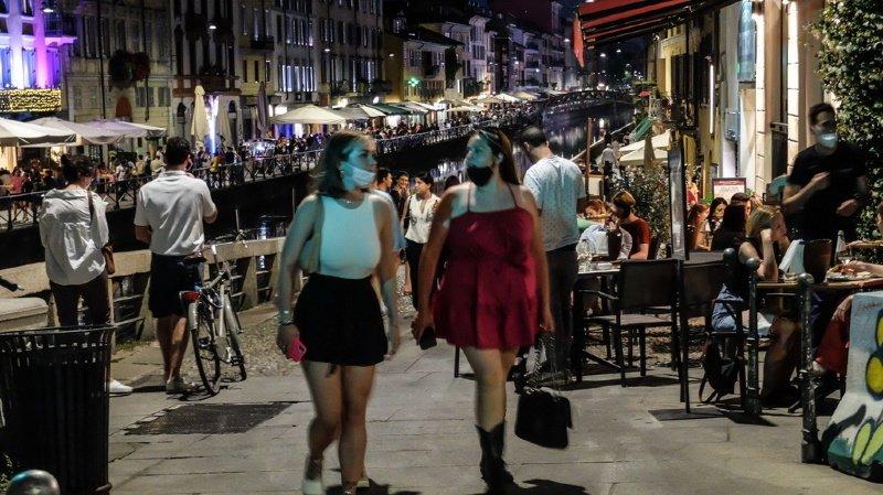 Coronavirus: l'Italie mettra fin le 28 juin au masque obligatoire à l'extérieur