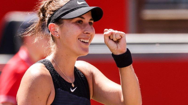La St-Galloise s'est imposée en demi-finale 7-5 6-4 face à la Française Alizé Cornet (WTA 63).