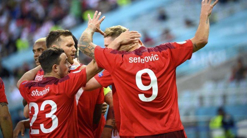 Euro 2021: la Suisse se qualifie pour les huitièmes de finale
