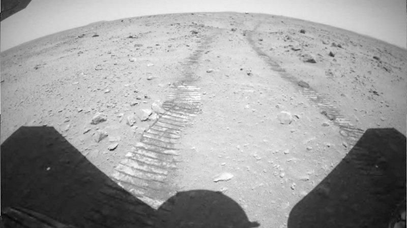 La Chine dévoile de nouvelles images de Mars