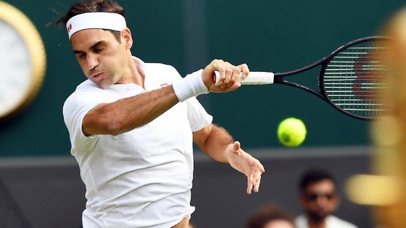 Tennis - Wimbledon: Roger Federer domine Richard Gasquet au 2e tour