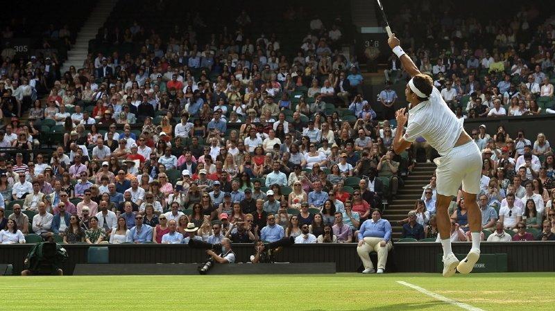 Tennis – Wimbledon: Federer se hisse en 8e de finale