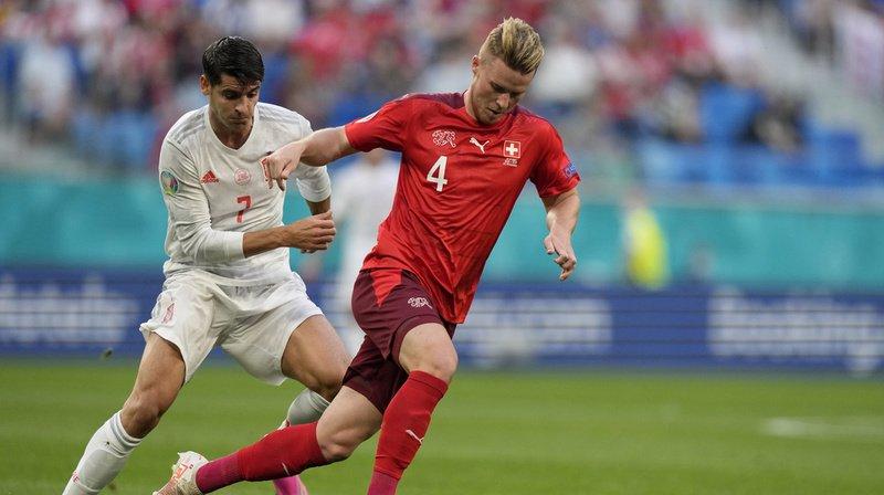 Euro 2021: la Suisse quitte le tournoi la tête haute face à l'Espagne
