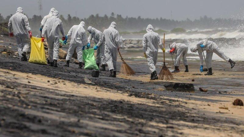 Enquête ouverte après une pollution au Sri Lanka