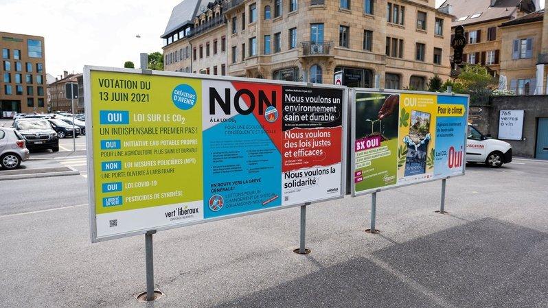 Votations fédérales: trois oui et deux non, voilà comment a voté le canton de Neuchâtel ce 13 juin