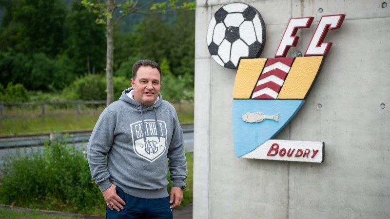 Football: Sébastien Grossin et le FC Boudry, 12 ans plus tard