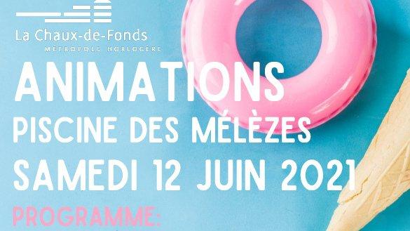 La Chaux-de-Fonds: après-midi spécial à la piscine des Mélèzes