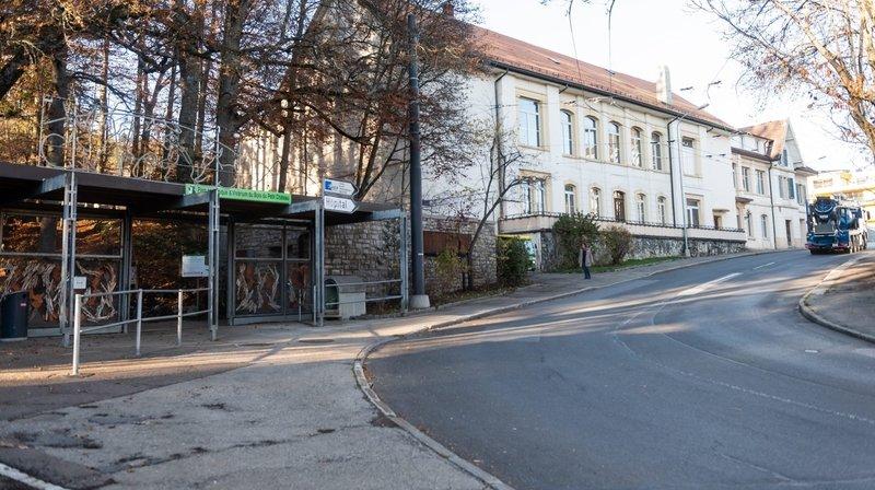 La Chaux-de-Fonds: l'entrée du Bois du Petit-Château en travaux durant deux semaines