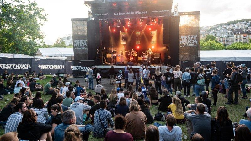 Festi'neuch: il y aura des concerts cet été aux Jeunes-Rives