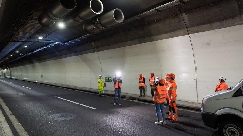 Les voitures laisseront la place à des ouvriers dans les tunnels sous Neuchâtel durant trois nuits la semaine prochaine.