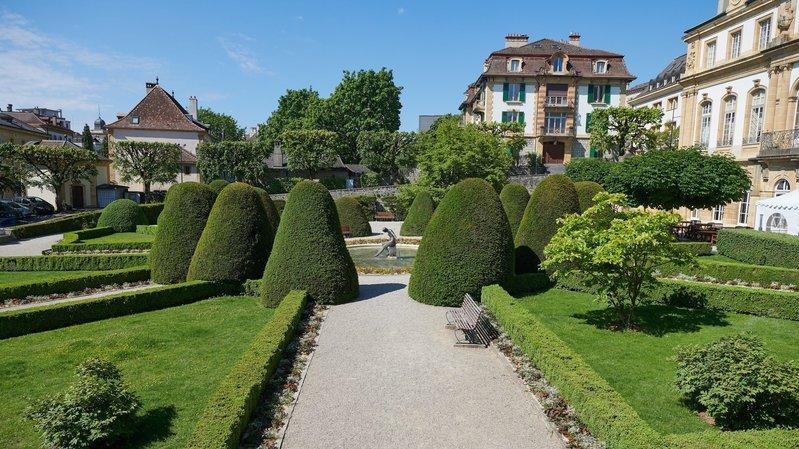 Neuchâtel investit pour les jardins de l'hôtel DuPeyrou, le musée d'ethno et les enfants