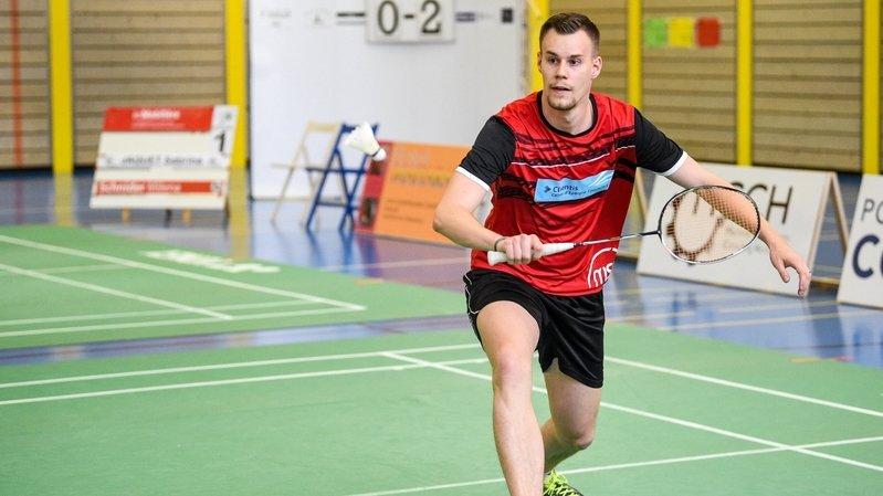 Badminton: Mathias Bonny sacré champion de Suisse de double mixte
