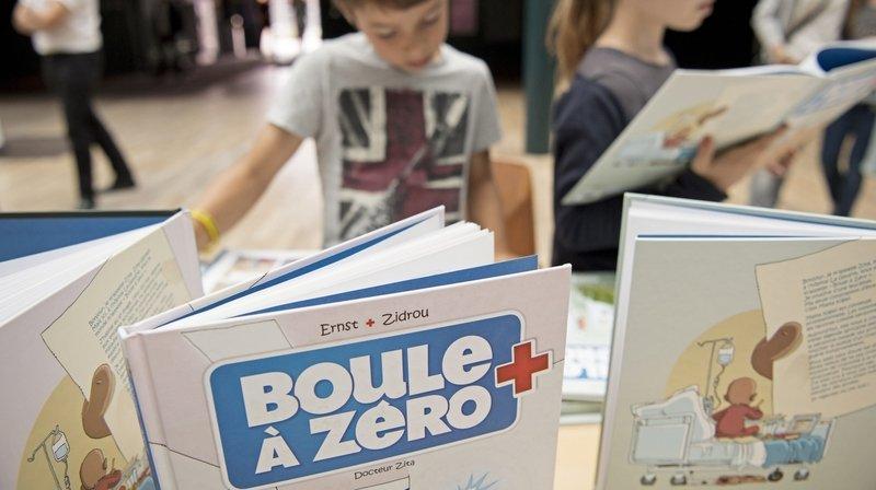 Neuchâtel: 1000francs de BD pour les enfants hospitalisés