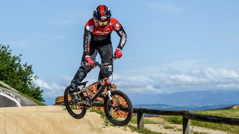 BMX: quatre podiums en quatre courses pour Kilian Burkhardt