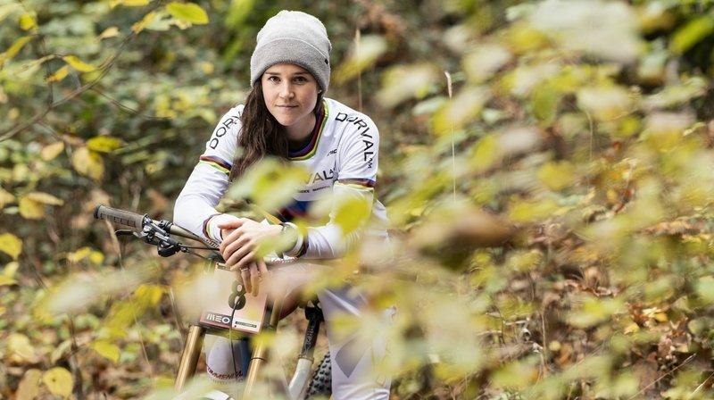 VTT: une reprise sur un parcours particulier pour Camille Balanche