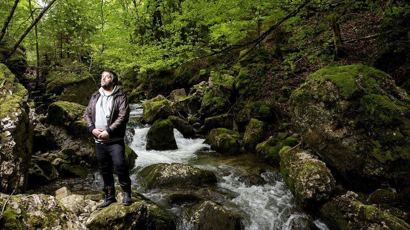 Augustin Rebetez: «Comme la rivière de la Scheulte, mon art peut inonder vos caves»
