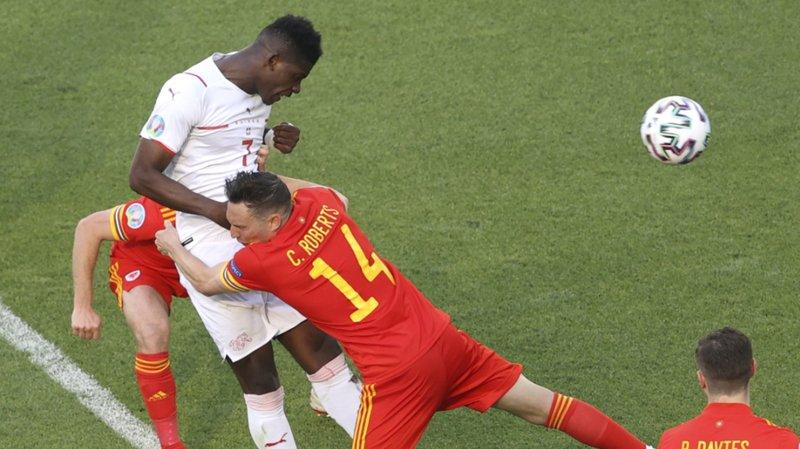 Breel Embolo a ouvert le score pour la Suisse.