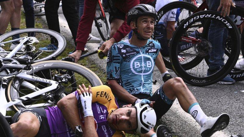 Cyclisme – Tour de France: la spectatrice à l'origine de la chute collective placée en garde à vue
