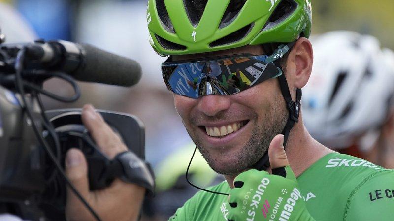 Cyclisme – Tour de France: Cavendish toujours le plus rapide