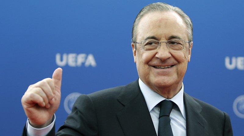Le Real Madrid, représenté par son président Florentino Perez, le Barça et la Juve ne sont pour l'heure plus sous le coup d'une procédure de la part de l'UEFA.